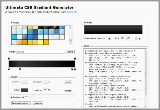 55+ CSS Tools for Designers and Developers - Designer Mag