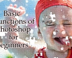 10 Basic Functions of Photoshop for Beginners