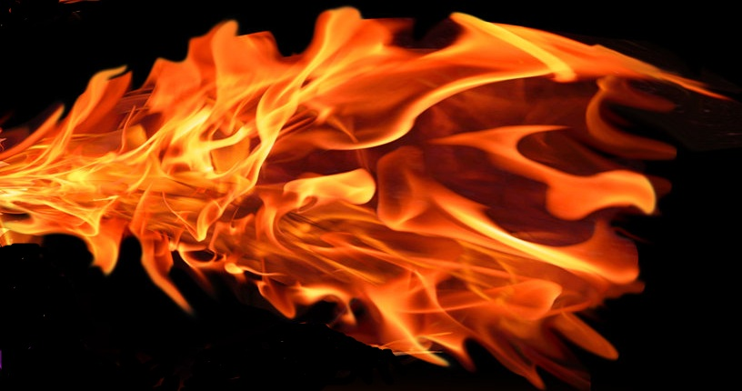 how to draw realistic fire in photoshop