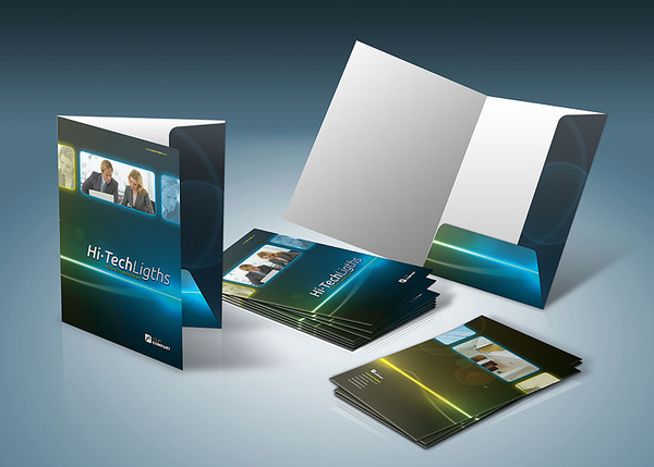 30 Outstanding Mockup Templates For Folder Designs