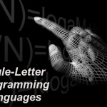 Single Letter Programming Languages