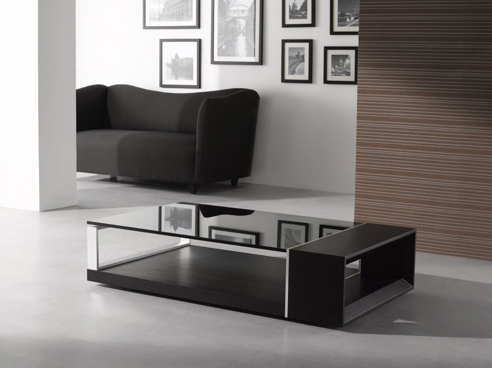 25 modern coffee table design ideas designer mag for Modern living room no coffee table