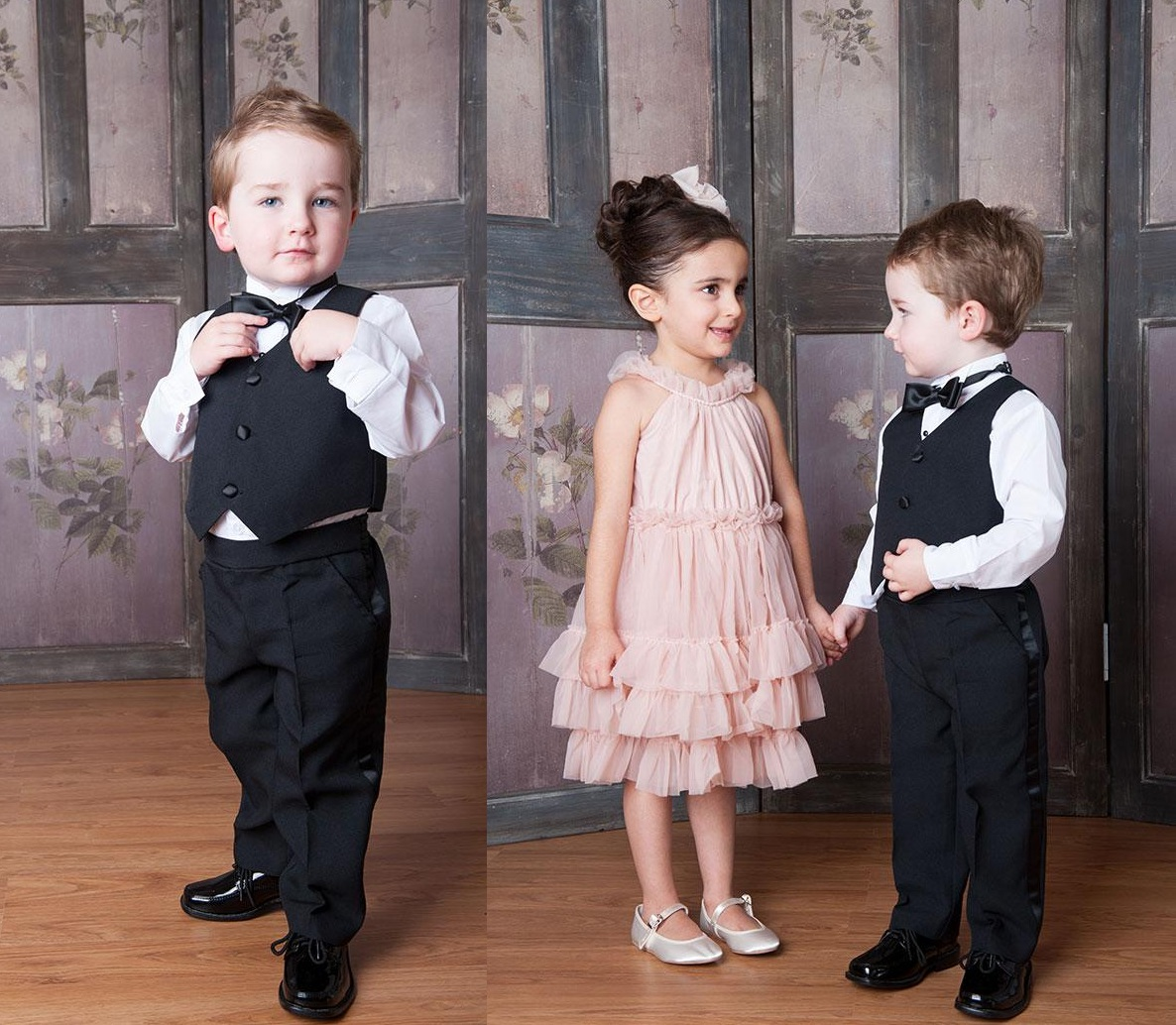 Lovely Wedding Trends: Page Boy and Flower Girls Outfits - Designer Mag