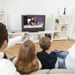 US families TV watching trends