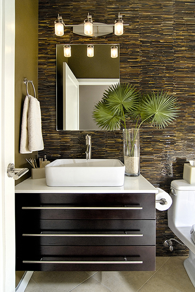 tile and mosaics can instantly change the mood of your boring bathroom