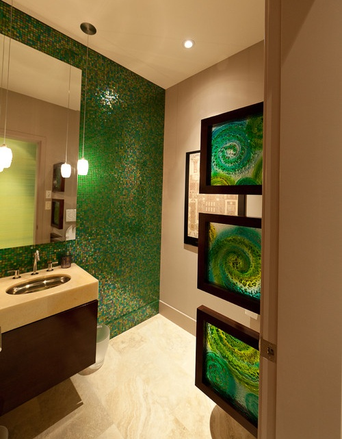 40 creative ideas for bathroom accent walls designer mag On accent wall paint ideas bathroom