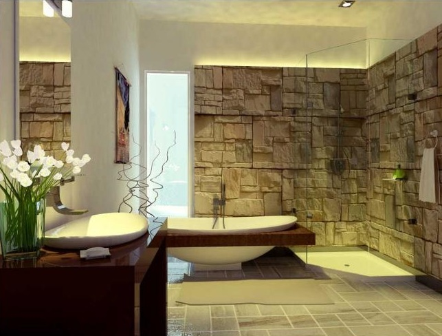 51 Stone Accent Wall Ideas For Various Rooms - DigsDigs