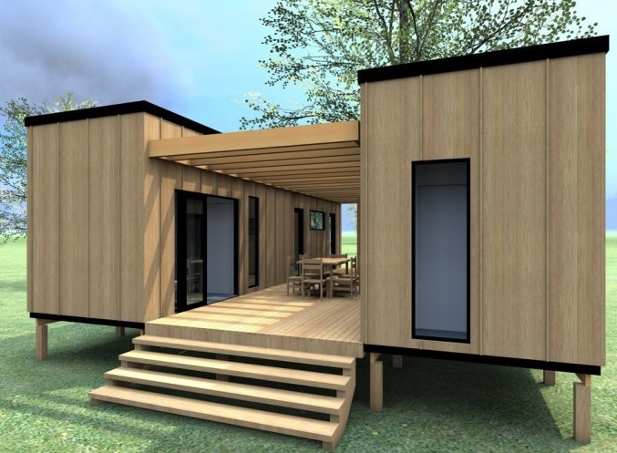 20 designs for container homes see what makes them so popular designer mag. Black Bedroom Furniture Sets. Home Design Ideas
