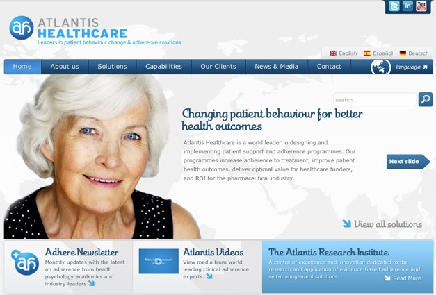 elements of health web design