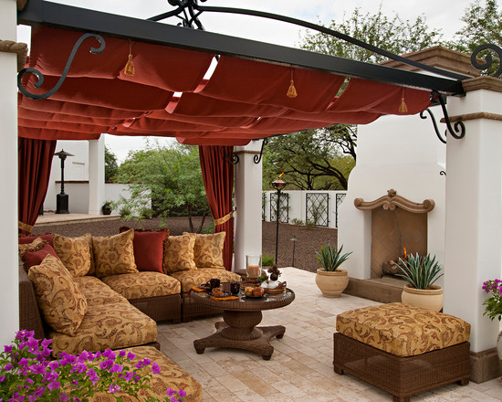 patio furniture with canopy 1
