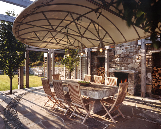 patio furniture with canopy