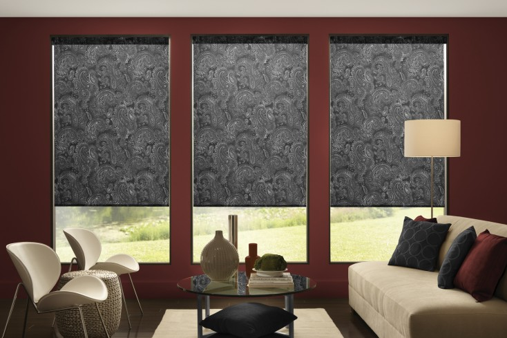 20 Roman Shades Designs To Spruce Up Your Windows