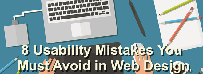 usabilty mistakes in web design