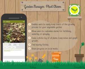 8  Must Have Gardening Apps 2015 [Infographic]