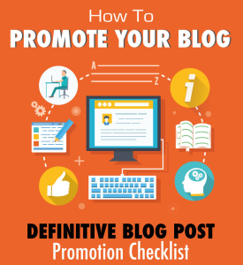 14 Ways for Blog Promotion in 2015 [Infographic]