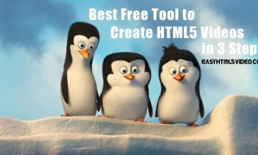 EasyHTML5Video: Best Free Tool to Create HTML5 Videos in 3 Steps