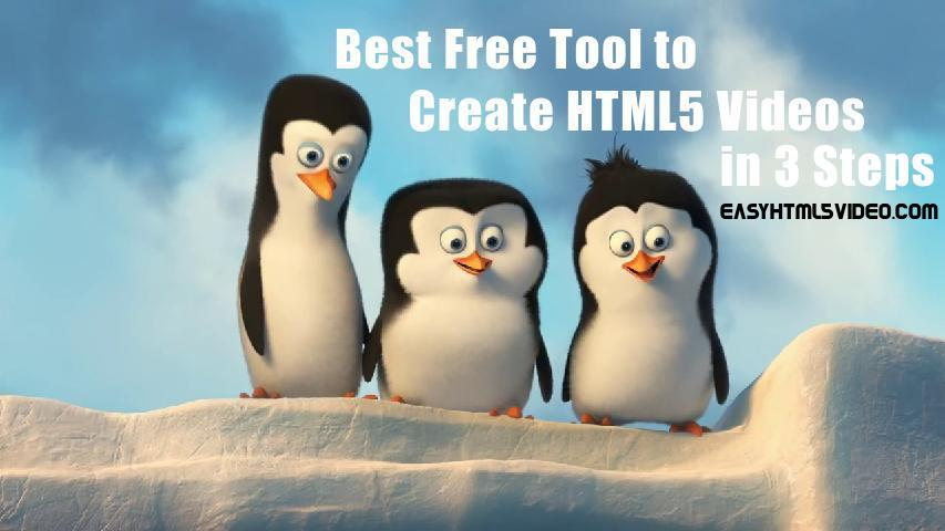 best free tool to create html5 videos