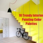 trendy interior design paints