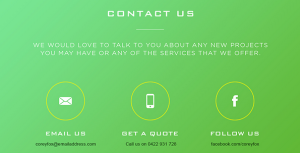 Relevant Tips for Designing an Eye Grabbing Contact Page