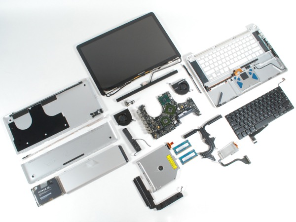 purchasing replacement parts for tech devices