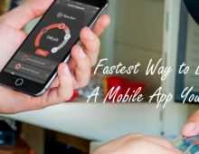 Fastest Way to Build a Mobile App Yourself