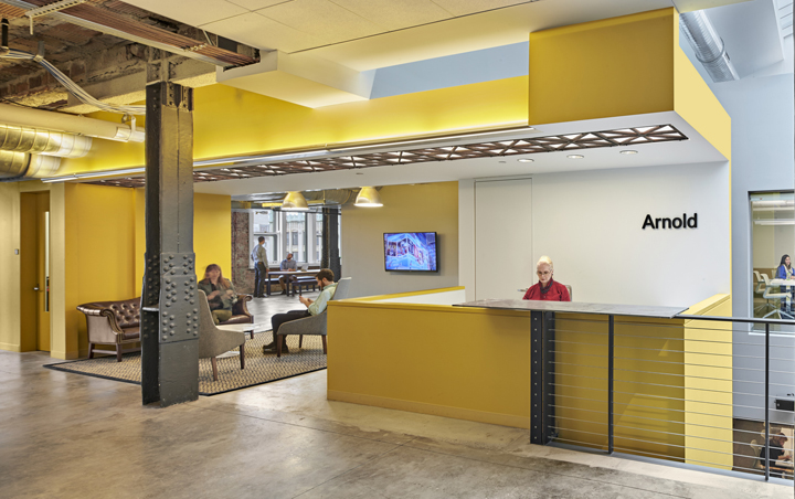 yellow color office