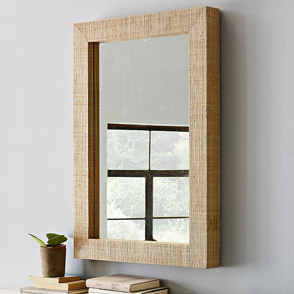 DIY Accents wood mirror