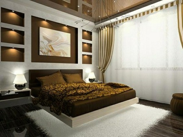 master bedroom design curtains
