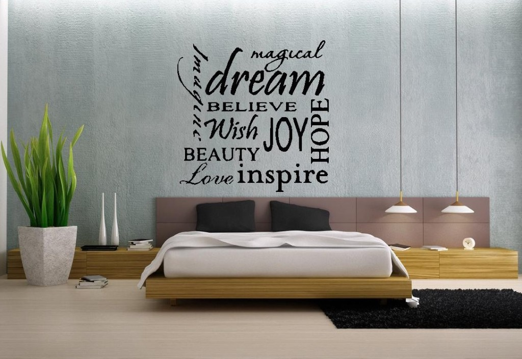 master bedroom design wall decals 3