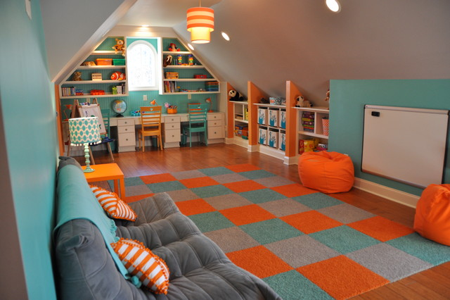 How to make your garage a safe playroom for your kids 13 for How to build a safe room in your garage