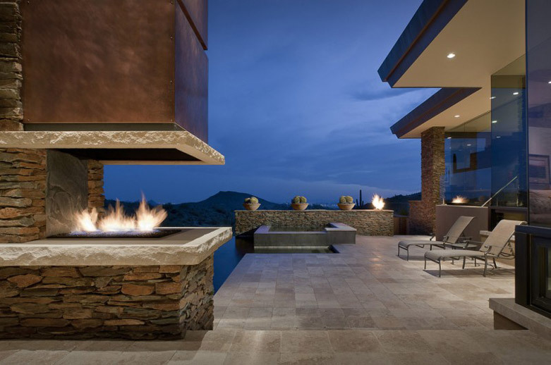 home decor ideas with fireplace 11