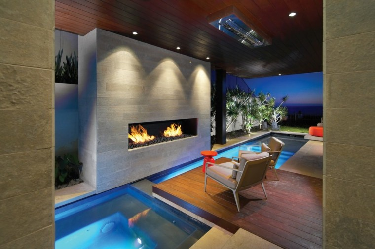 home decor ideas with fireplace 12
