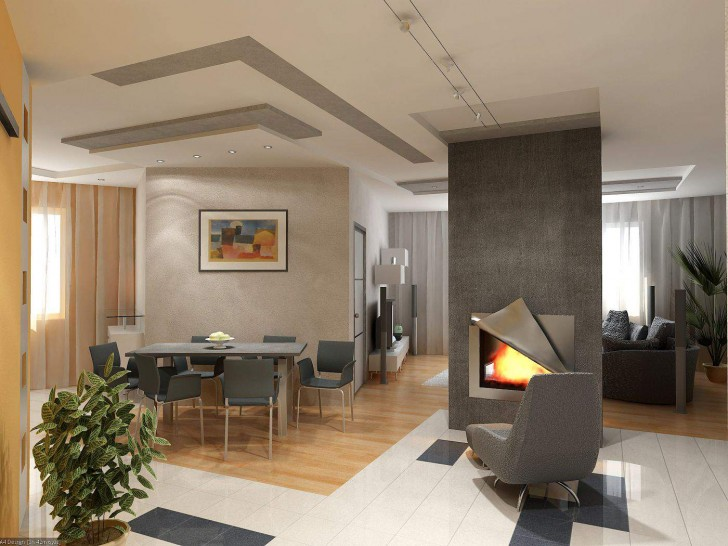 home decor ideas with fireplace 4