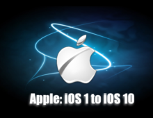 Apple's Consistent Evolvement from iOS 1 to iOS 10
