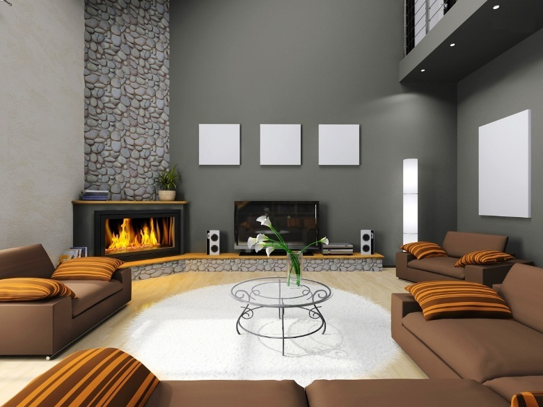 home decor ideas with fireplace 9