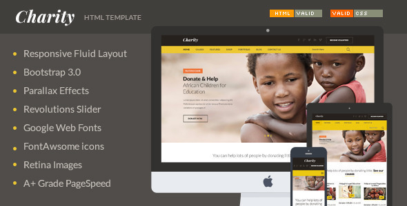 charity-html-template