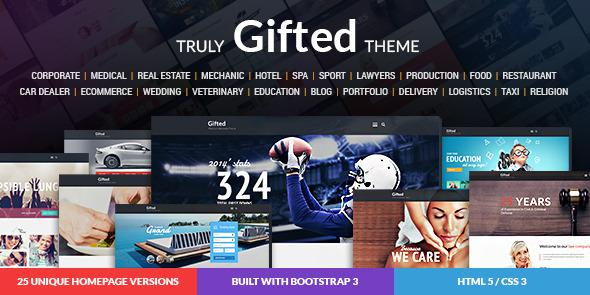 gifted-html-template