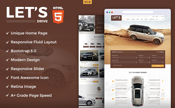 lets-drive-html-templates