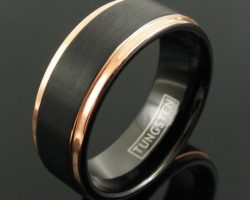 Tungsten Rings – The Ultimate Fashion Accessory for Men