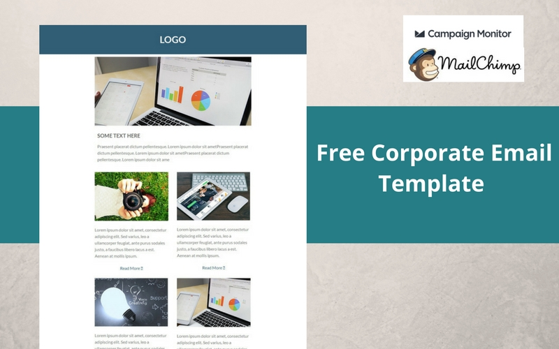 free corporate email template designer mag
