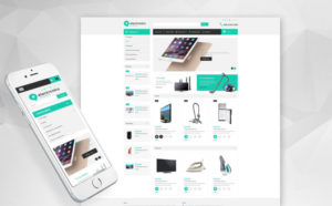 Electronic-Store-OpenCart-Template