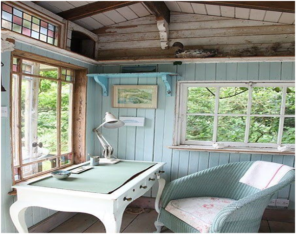10 Amazing Interior Design Ideas for Garden Sheds, Outhouses ...