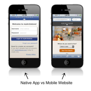Native App VS Web App – Understanding the Difference