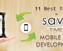 11 Best Tools to Saving Huge Mobile App Development Time