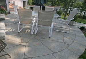 concrete surface patio