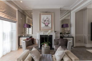 Add glam to your living room