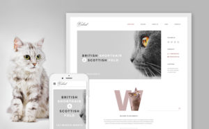 cat-responsive-website-template