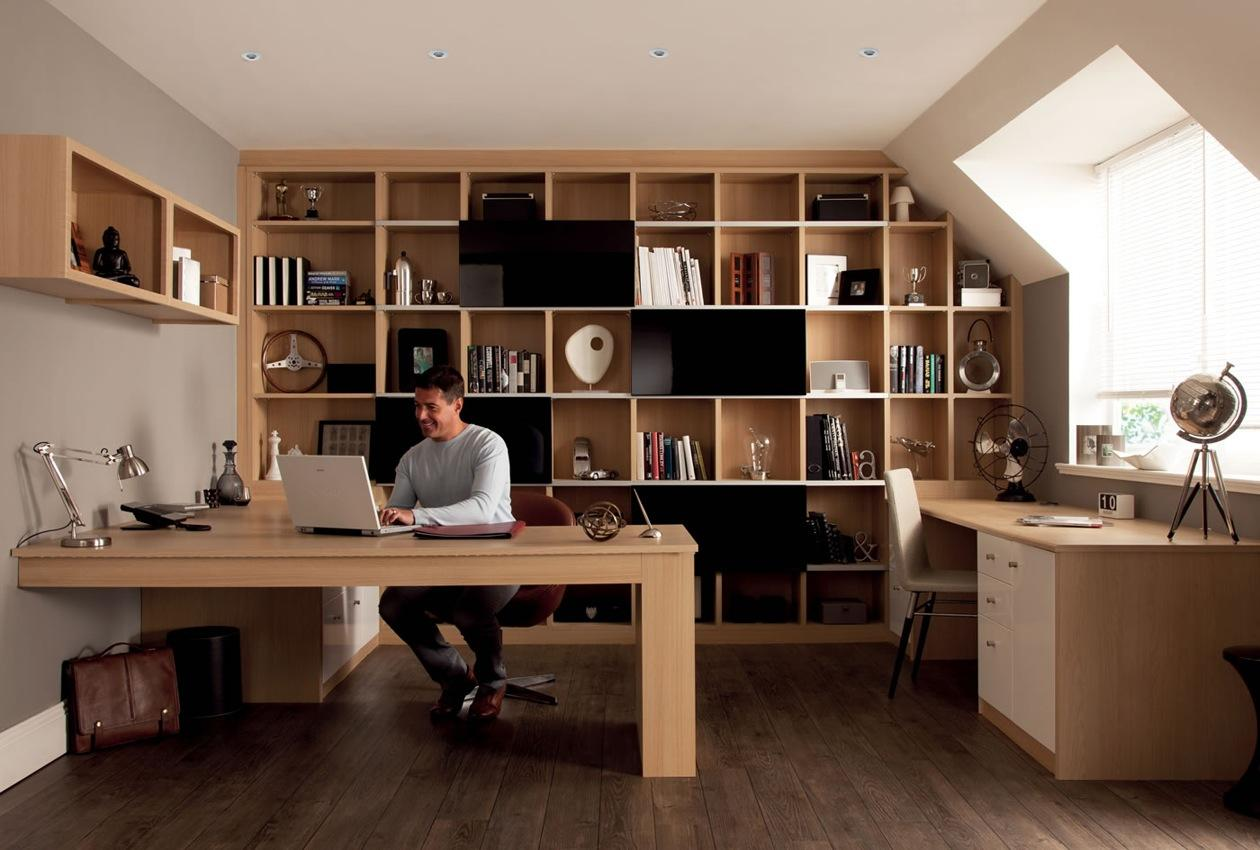 Creating a beautiful and functioning home office for Home office furniture images