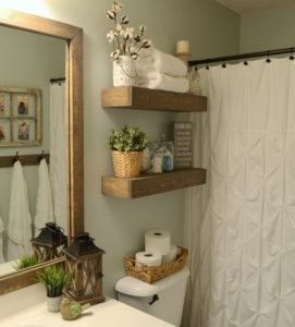DIY bathroom project